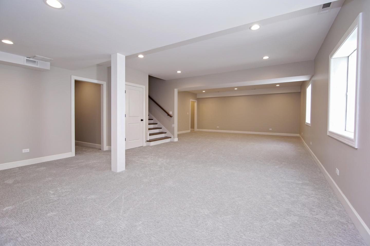 basement by AMA Development Deerfield Illinois