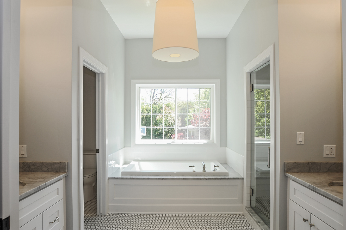 master bath by AMA Development Deerfield Illinois