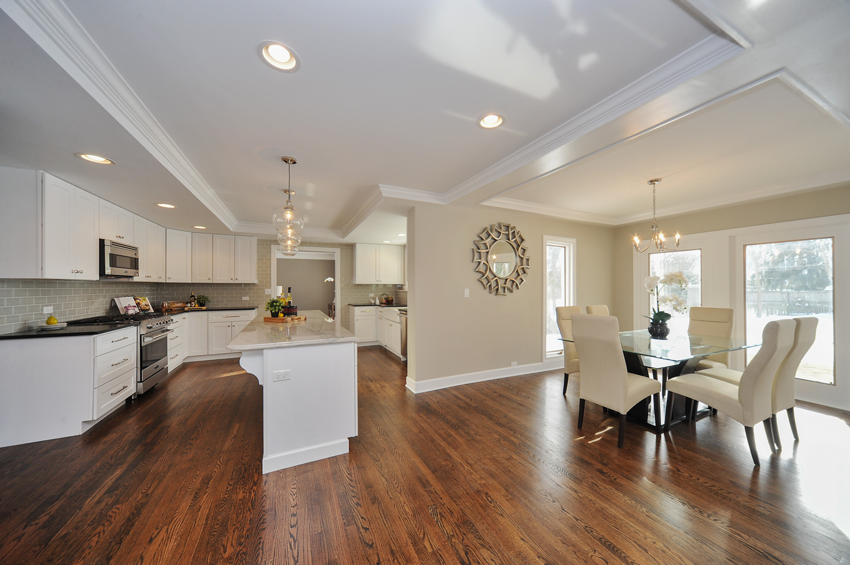 kitchen / eating area by AMA Development Deerfield Illinois