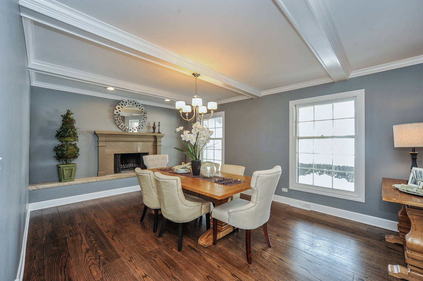 dining room by AMA Development Deerfield Illinois