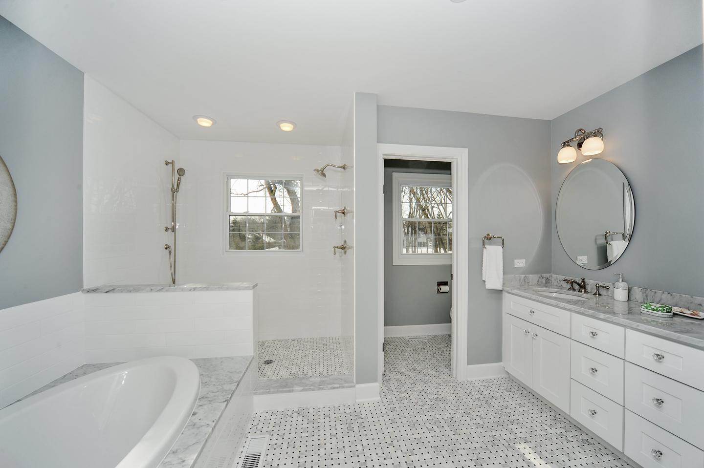 master bath by AMA Development Deerfield Illinois
