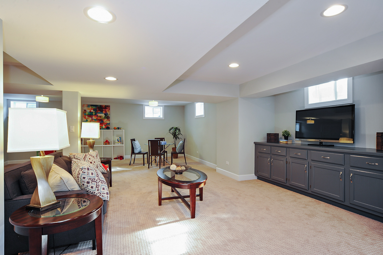 basement by AMA Development Deerfield Illinois