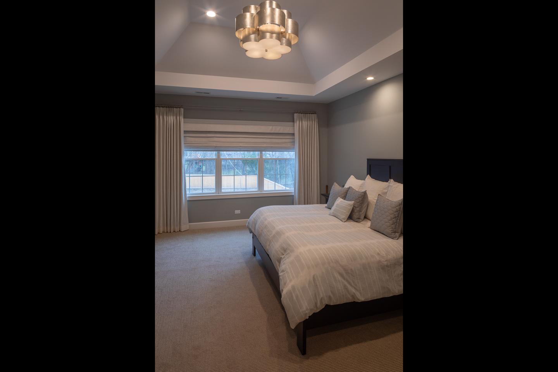 master bedroom by AMA Development Deerfield Illinois