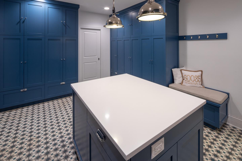 laundry room remodel by AMA Development Deerfield Illinois