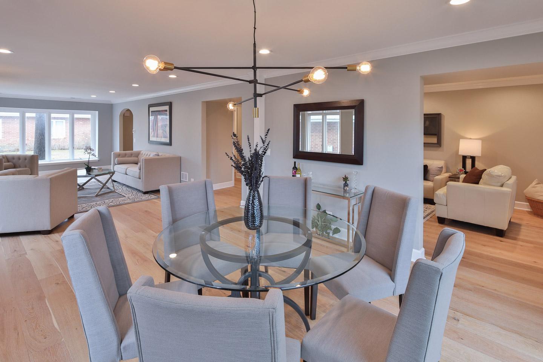 dining room by Samara Development Deerfield Illinois