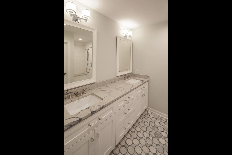 master bath by Samara Development Deerfield Illinois