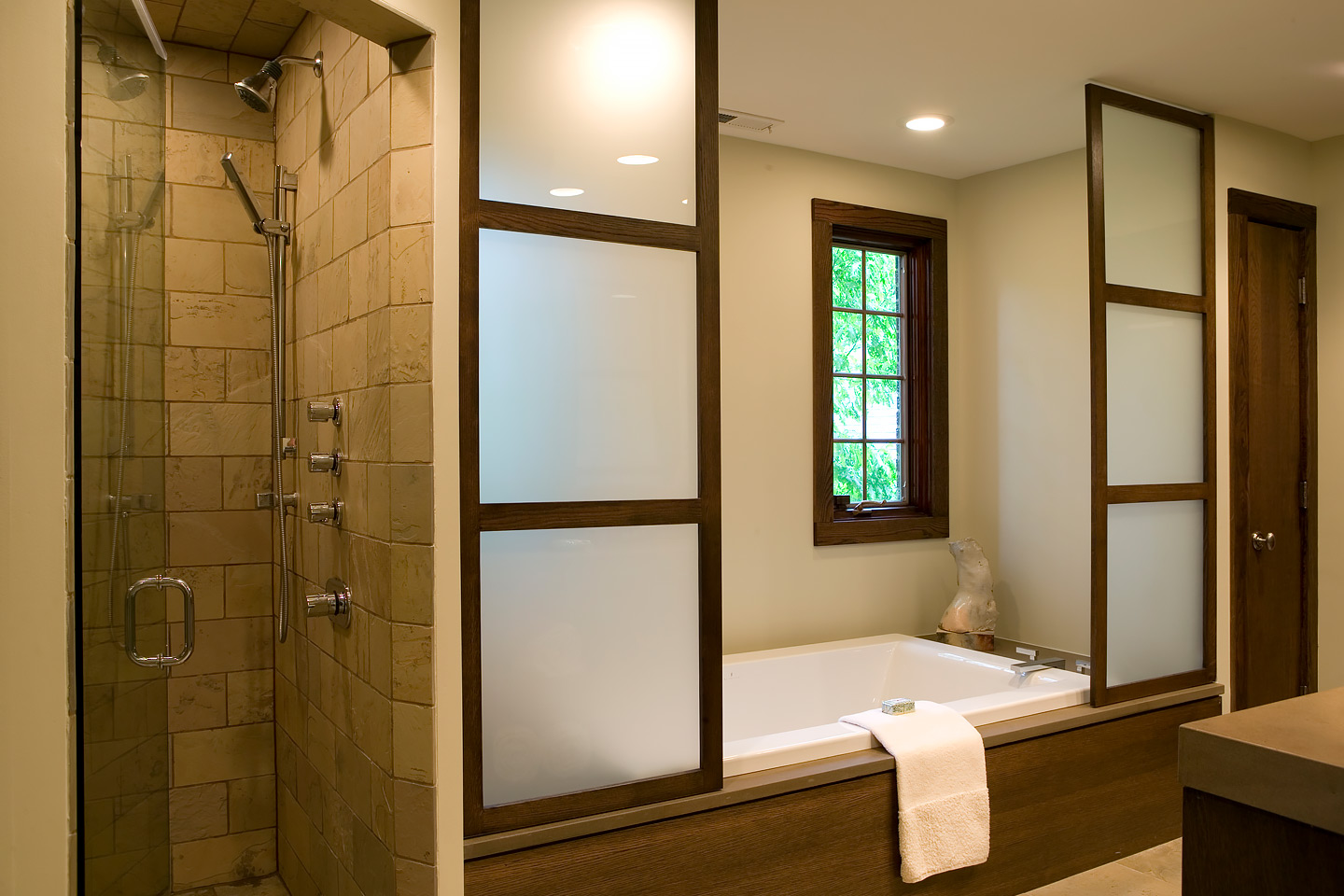 master bath by Samara Development Deerfield Illinois