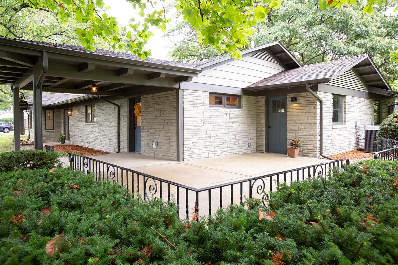 patio space by Samara Development Deerfield Illinois