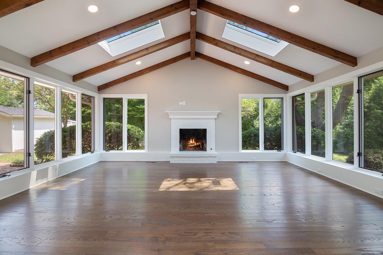 great room by Samara Development Deerfield Illinois