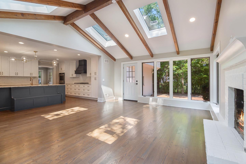 kitchen and great room by Samara Development Deerfield Illinois