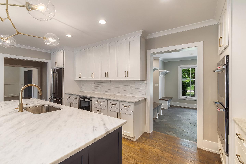 kitchen with mudroom by Samara Development Deerfield Illinois