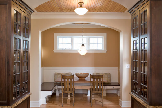 breakfast room by Samara Development Deerfield Illinois